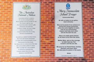 Mary Immaculate Catholic Primary School Bossley Park Acknowledgement of Country
